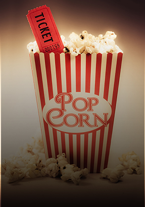 Win Movie Tickets and snacks for two